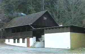 Vereinsheim um 1980