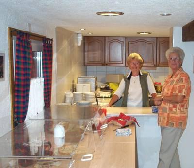 Betrieb in der Küche